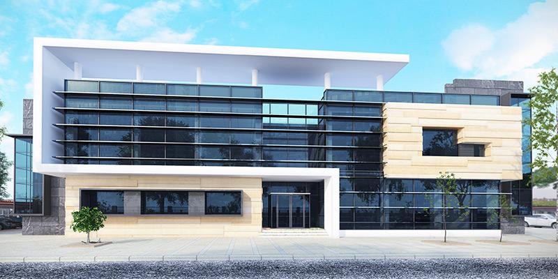 OB-Van Admin Building & Garage