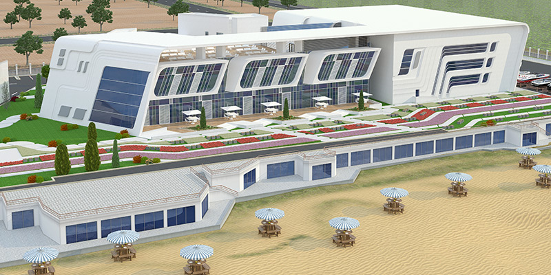 Sports Arena for Police Officer`s Club